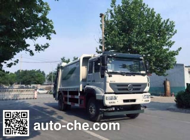 Мусоровоз с уплотнением отходов Yuanyi JHL5162ZYSE
