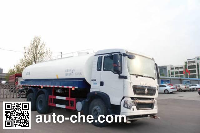 Поливальная машина (автоцистерна водовоз) Yuanyi JHL5250GSSE