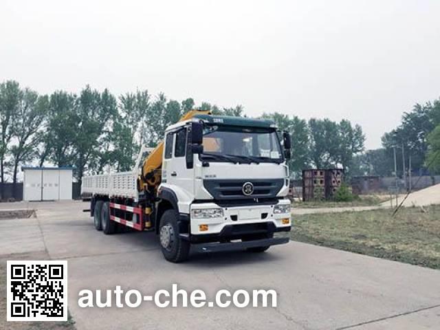 Грузовик с краном-манипулятором (КМУ) Yuanyi JHL5251JSQE