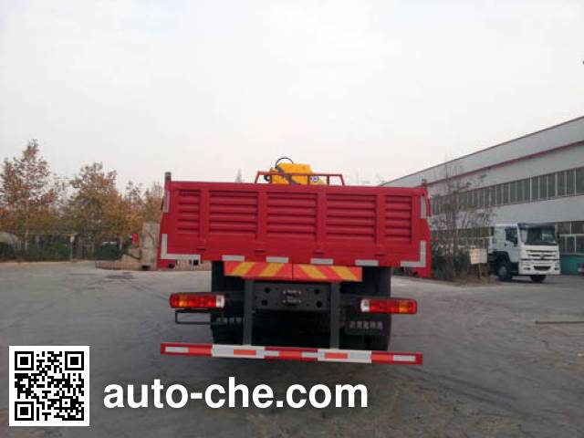 Yuanyi грузовик с краном-манипулятором (КМУ) JHL5257JSQM52ZZ