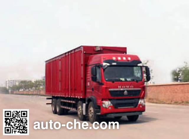 Автофургон с подъемными бортами (фургон-бабочка) Yuanyi JHL5310XYKE