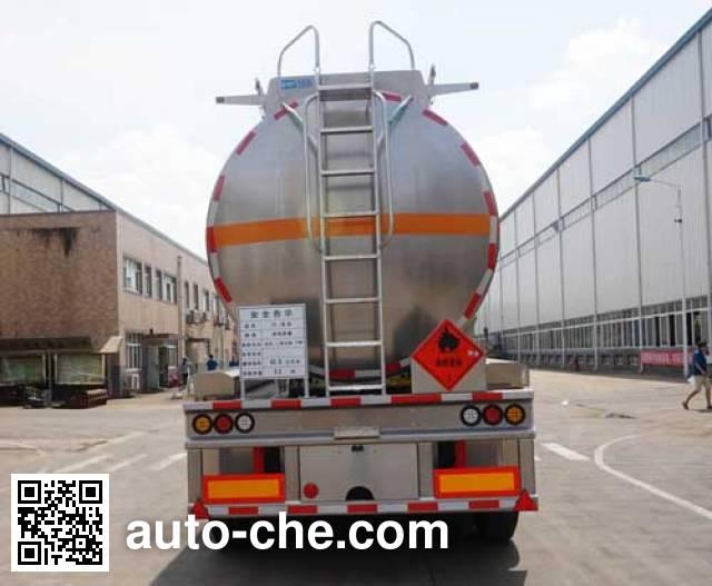 Yunli полуприцеп цистерна алюминиевая для легковоспламеняющихся жидкостей LG9402GRY