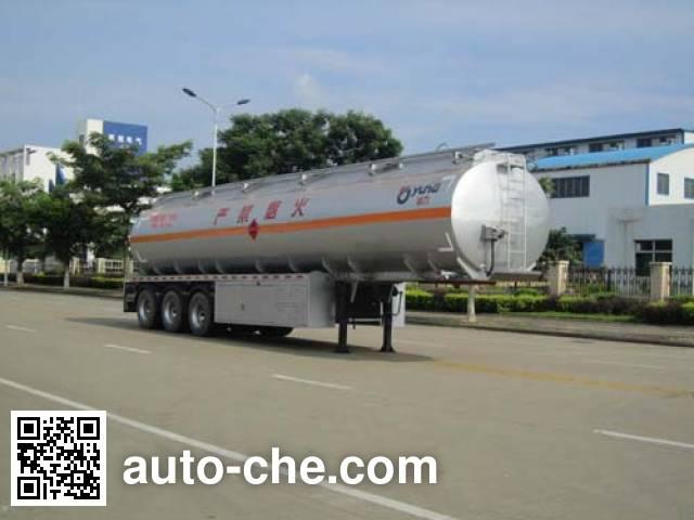 Полуприцеп цистерна алюминиевая для нефтепродуктов Yunli LG9404GYY
