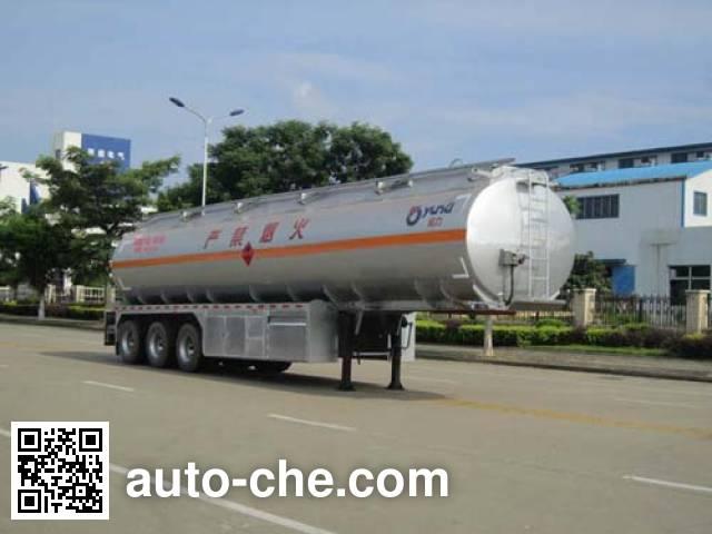 Полуприцеп цистерна алюминиевая для нефтепродуктов Yunli LG9408GYY