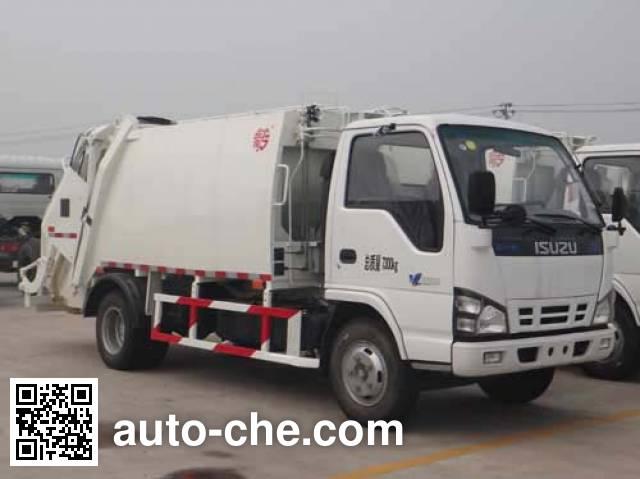 Мусоровоз с уплотнением отходов Qingzhuan QDZ5071ZYSLI