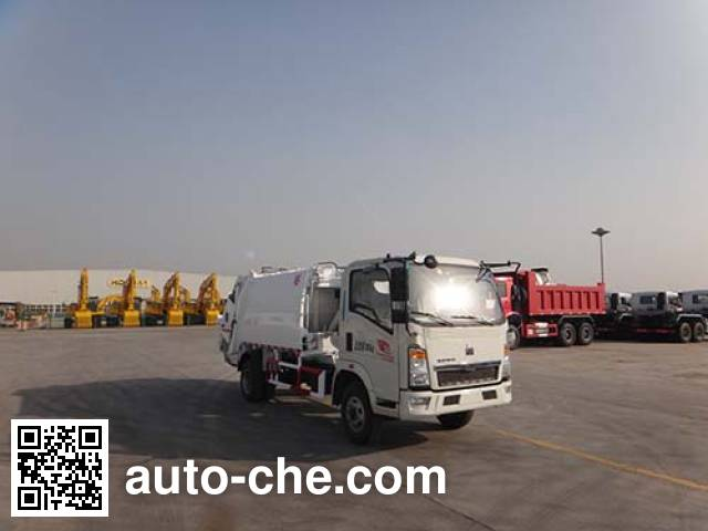 Мусоровоз с уплотнением отходов Qingzhuan QDZ5080ZYSZHL2MD