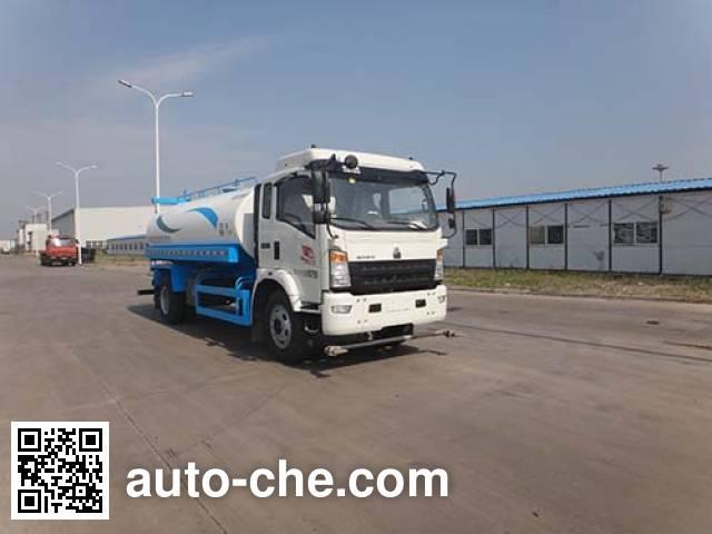 Поливальная машина (автоцистерна водовоз) Qingzhuan QDZ5160GSSZHG3WE1