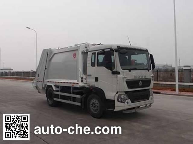 Мусоровоз с уплотнением отходов Qingzhuan QDZ5160ZYSZHT5GE1