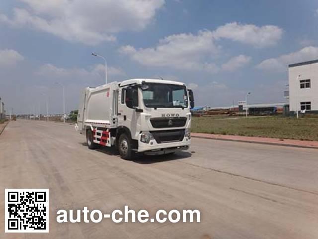 Мусоровоз с уплотнением отходов Qingzhuan QDZ5161ZYSZHT5GE1
