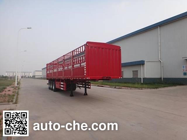 Полуприцеп с решетчатым тент-каркасом Qingzhuan QDZ9400CCY