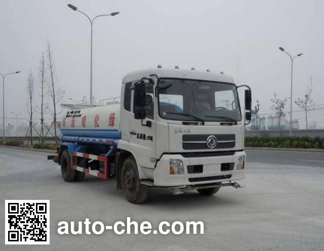 Поливальная машина для полива или опрыскивания растений Sinotruk Huawin SGZ5160GPSDFL4BX4