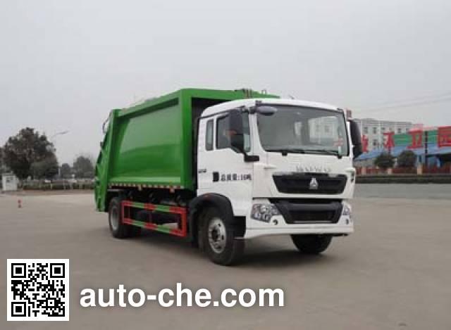 Мусоровоз с уплотнением отходов Sinotruk Huawin SGZ5161ZYSZZ5T5