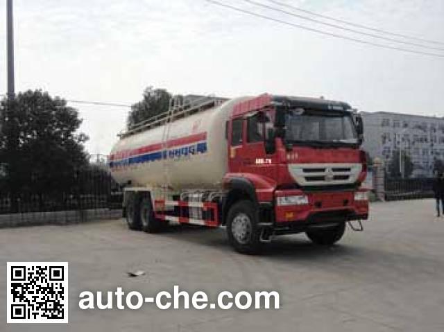 Автоцистерна для порошковых грузов низкой плотности Sinotruk Huawin SGZ5250GFLZZ4J52