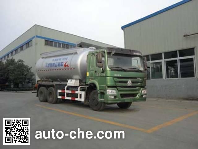 Грузовой автомобиль для перевозки сухих строительных смесей Sinotruk Huawin SGZ5250GGHZZ4W