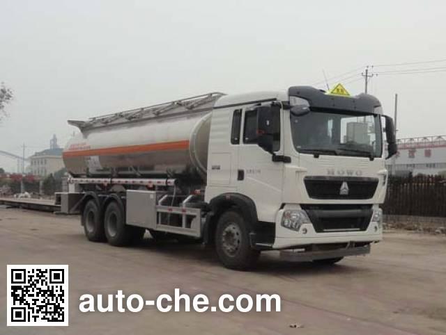 Автоцистерна алюминиевая для нефтепродуктов Sinotruk Huawin SGZ5250GYYZZ4G46