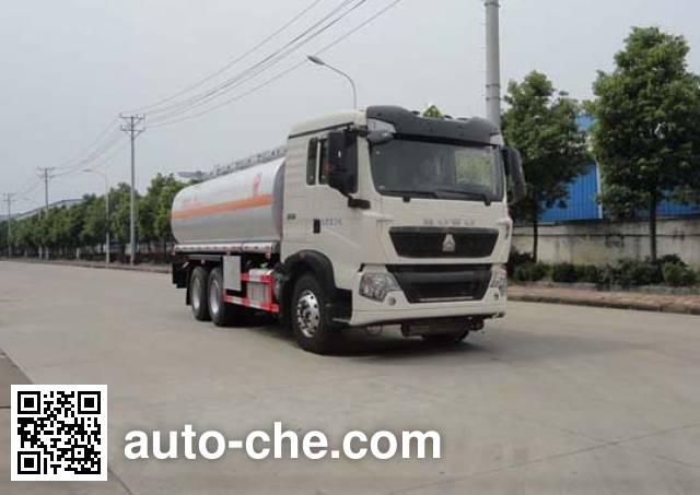 Автоцистерна для нефтепродуктов Sinotruk Huawin SGZ5260GYYZZ5T5