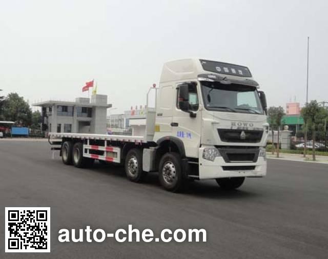Sinotruk Huawin грузовик с плоской платформой SGZ5310TPBZZ5T7