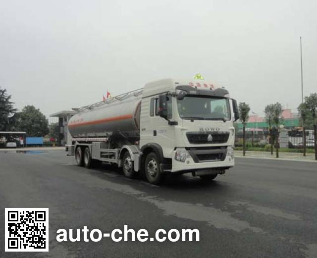 Автоцистерна алюминиевая для нефтепродуктов Sinotruk Huawin SGZ5321GYYZZ4T5