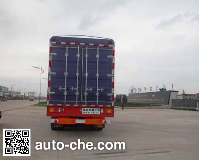 Sinotruk Huawin полуприцеп с решетчатым тент-каркасом SGZ9310CXY