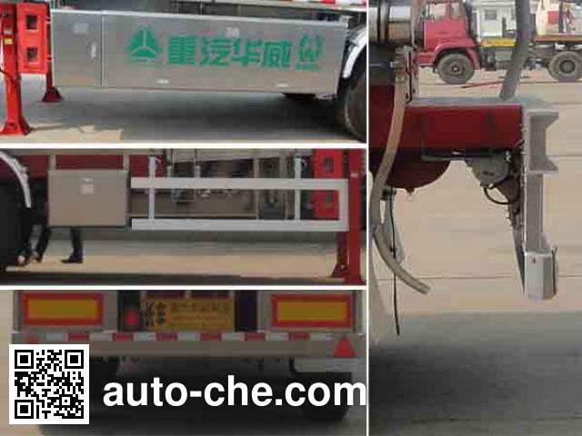 Sinotruk Huawin полуприцеп цистерна алюминиевая для нефтепродуктов SGZ9406GYY