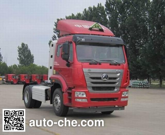 Седельный тягач для перевозки опасных грузов Sinotruk Hohan ZZ4185V4216E1CW