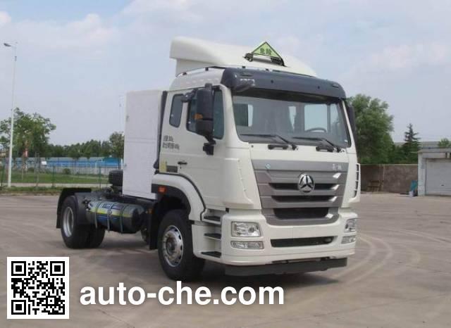 Седельный тягач для перевозки опасных грузов Sinotruk Hohan ZZ4185V4216E1LW