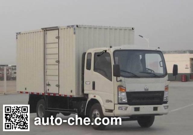 Фургон (автофургон) Sinotruk Howo ZZ5047XXYE281AD1Y45