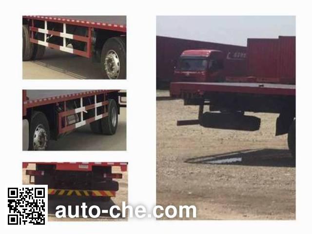 Sinotruk Hohan грузовик с плоской платформой ZZ5255TPBH56C3D1