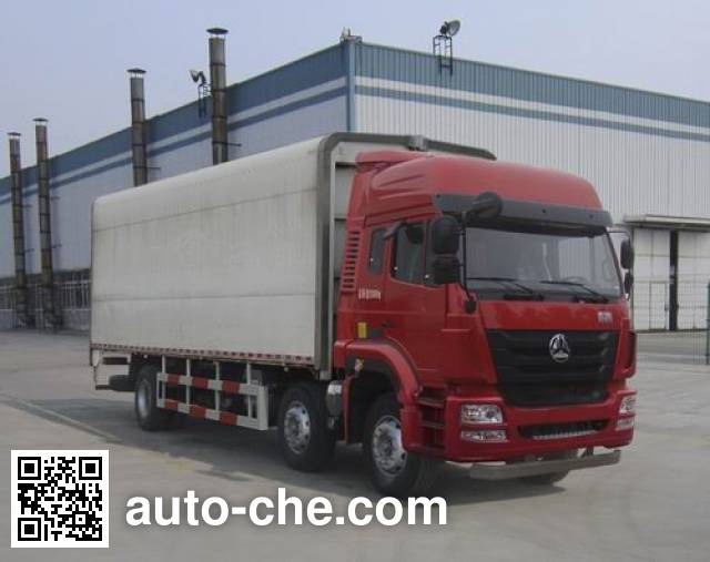 Автофургон с подъемными бортами (фургон-бабочка) Sinotruk Hohan ZZ5255XYKM56C3E1