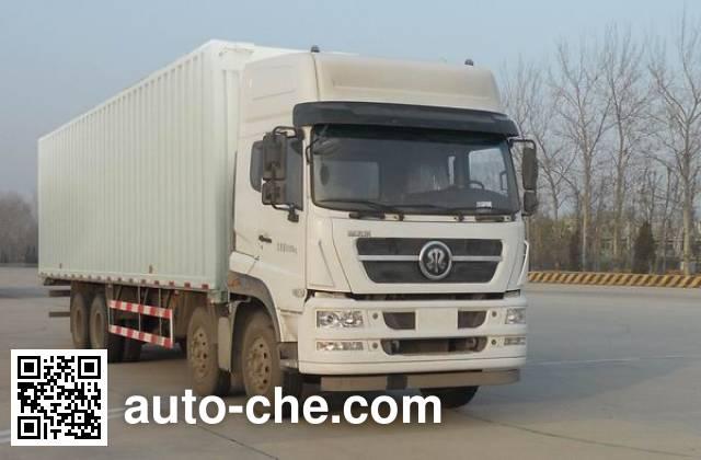 Автофургон с подъемными бортами (фургон-бабочка) Sida Steyr ZZ5313XYKN466GE1