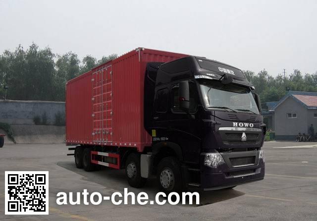 Фургон (автофургон) Sinotruk Howo ZZ5317XXYV466HE1