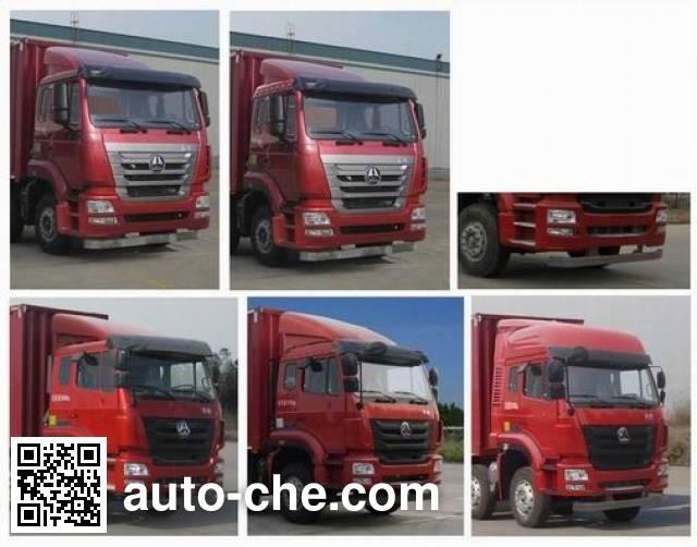 Sinotruk Hohan фургон (автофургон) ZZ5325XXYN4663E1K