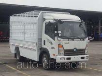 Электрический грузовик с решетчатым тент-каркасом