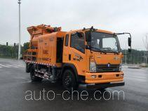 Бетононасос на базе грузового автомобиля Sinotruk CDW Wangpai CDW5140THBA2R5