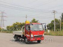 Грузовик с краном-манипулятором (КМУ) Yuanyi JHL5047JSQD34ZZ