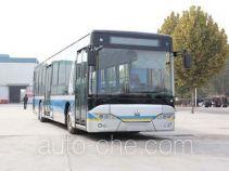 Гибридный городской автобус с подзарядкой от электросети Huanghe JK6129GHEVN52