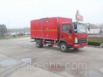 Автофургон для перевозки горючих газов Luye JYJ5047XRQD