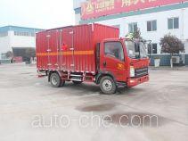 Автофургон для перевозки легковоспламеняющихся жидкостей Luye JYJ5047XRYE