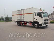 Автофургон для перевозки горючих газов Luye JYJ5167XRQE