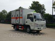Автофургон для перевозки легковоспламеняющихся жидкостей Sinotruk Huawin SGZ5038XRYBJ4