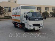 Автофургон для перевозки коррозионно-активных грузов Sinotruk Huawin SGZ5048XFWJX4