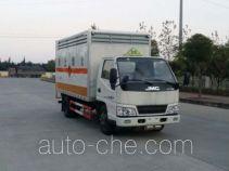 Автофургон для перевозки твердых легковоспламеняющихся грузов Sinotruk Huawin SGZ5048XRGJX4