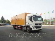 Автофургон для перевозки легковоспламеняющихся жидкостей Sinotruk Huawin SGZ5250XRYZZ5T5T
