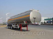 Полуприцеп цистерна алюминиевая для нефтепродуктов Sinotruk Huawin SGZ9406GYY