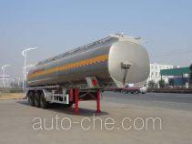 Полуприцеп цистерна алюминиевая для нефтепродуктов Sinotruk Huawin SGZ9408GYY