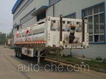 Полуприцеп газовоз для перевозки газа высокого давления в длинных баллонах Bolong SJL9380GGY