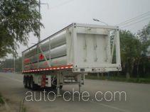 Полуприцеп газовоз для перевозки газа высокого давления в длинных баллонах Bolong SJL9400GGY
