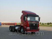 Седельный тягач контейнеровоз Sinotruk Hania ZZ4255N2945C1Z