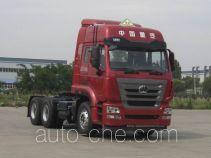 Седельный тягач для перевозки опасных грузов Sinotruk Hohan ZZ4255N3236E1W