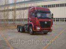Седельный тягач для перевозки опасных грузов Sinotruk Hohan ZZ4255N3246E1W